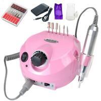 New Electric Art Nail Polisher File Drill Manicure Pedicure Machine 30000RPM