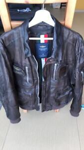 Aeronautica Militare Men Leather Jacket