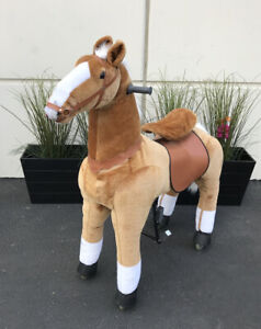 JUMBO Giddy Up Horse Ride On (holds 178lbs) USA Shipper (03B) By Giddy Up Rides