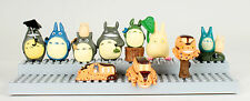 My Neighbor Totoro Anime Japan Set 10 Piece Mini Toy Figure Chu Totoro Chibi Cat