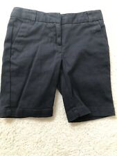 Izod Navy Girls Uniform Shorts Size 6