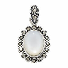 Unbranded Pearl Sterling Silver Fine Necklaces & Pendants