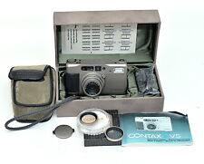 Contax TVS 35mm Compact Film Camera w/ Zeiss 28-56mm Lens