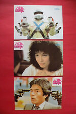 MAD MISSION  1982 SAMUEL HUI ERIC TSANG SYLVIA CHANG UNIQUE EXYU LOBBY CARDS