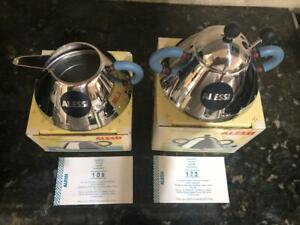 Michael Graves Alessi Creamer & Sugar Set NIB Sold Out on Alessi Site!