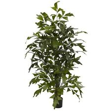 Nearly Natural 5330 4.5 Ft. Fishtail Palm Silk Tree Green