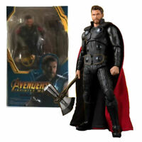 "S.H.Figuarts Avengers infinity War 6"" Thor Axe Action Figure Toy Kids Xmas Gifts"