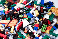 Huge Lego Lot! 1 Pound Lots of Legos with Mini-figures!