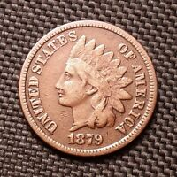1879 Indian Head Cent/Penny - Fine+ F+