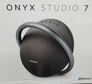 Harman Kardon Onyx Studio 7 Black Speaker Portable Wireless Bluetooth Premium
