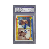 Rich Goose Gossage Signed 1983 Topps - PSA DNA