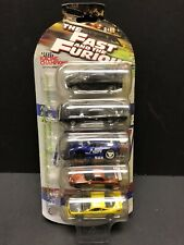 Racing Champions The Fast And Furious 5 Pack Charger Civic Eclipse EM0537