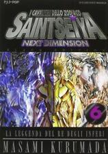 Masami Kurumada SAINT SEIYA NEXT DIMENSION n. 6 BLACK EDITION J-pop