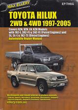 Toyota Hilux Pickup Truck and 4Runner Repair Manual Ellery 2000 1999 1998 1997