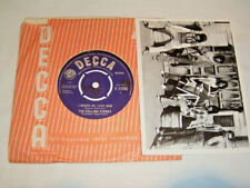 """7"""" - Rolling Stones I wanna be your Man & Stoned - 1st UK 1963 Center # 2571"""