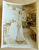 "LILIAN HARVEY HOLLYWOOD AMERICAN ACTRESS 10""X 8"" GLOSSY Photo ORIGINAL Print"