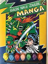 MAMMUT-dipingere dopo numeri Manga ppnjc mostro