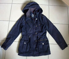 Esprit Jacke Trenchcoat Mantel dunkel blau 36 S XS 34 Parka