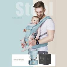 9in1 Ergonomische Babytrage Kindertrage Bauchtrage Rückentrage100% Baumwolle