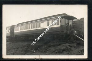 G & SWR Saloon Coach SC45019M At St Rollox - Old Postcard Size Photo As Scanned