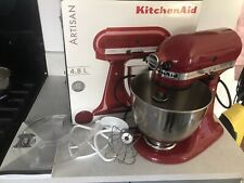 KitchenAid Artisan Food Stand Mixer In Empire Red, Inc. Bowl & Attachments