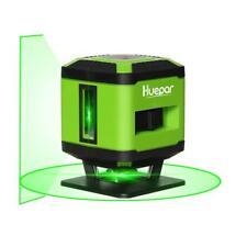 Level Laser, to Floor for Tile Installation, Laser to cross Green, Auto Huepar