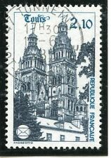 STAMP / TIMBRE FRANCE OBLITERE N° 2370 CATHEDRALE DE TOURS