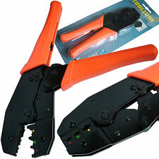 Ratchet Crimping Pliers/ Crimper for Crimping electrical terminal connectors
