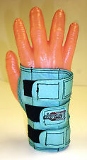 Small Medium Large Bowlers Bowling Wrister Wrist Support Teal  Right Hand Glove