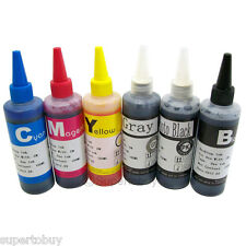 6 COLOR Compatible INK Set for Canon PIXMA MG6320 MG8120 MG8220