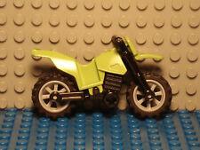 LEGO LEGOS  -  One  NEW  Dirt Bike   LIME GREEN World Racers 2010 7-14