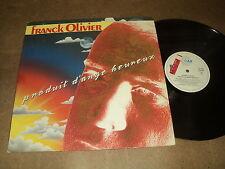"@ FRANCK OLIVIER 33 TOURS LP 12"" BELGIUM PRODUIT D'ANGE HEUREUX /BERNARD ESTARDY"
