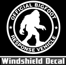 Sasquatch Bigfoot Yeti Offical Response Vinyl Window Decal Sticker Car Truck