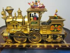 Mr. Christmas Gold Label Christmas Cannonball Animated Steam Train