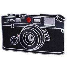 Embroidered Photography Sewing Iron On Patch Leica M6 M4 M9 M10