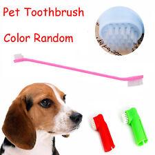 Silicona cepillo de dientes mascotas cepillos Oral goma masajeador dientes Perro