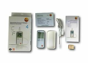 Testo 108, food thermometer with standard immersion/penetration probe