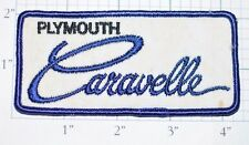 Plymouth Caravelle Vintage Embroidered Sew-on Automobile Patch Collectible Badge