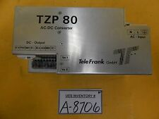 TeleFrank TZP80-2405/S AC-DC Converter TZP 80 Used Working