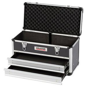 Alukoffer Werkzeugkoffer Werkzeugkiste Kreator - mit 2 Schubladen