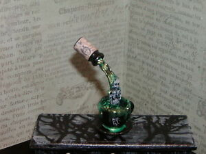 Dollhouse Miniatures Halloween Conjuring Witch Spell #3