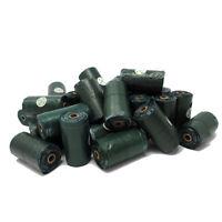Clearance Scot-Petshop Dog Poo Bag Rolls, Tie Handles Waste Bags - 50 Rolls