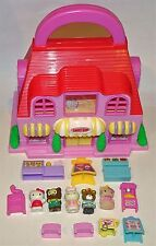 Hello Kitty World SWEET SHOP Mini Lot & Accessories~ TOY Figures SET