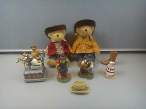 BOYD'S BEAR COLLECTION ~ TREASURE BOXES, PLUSH, RESIN, MUSIC BOX