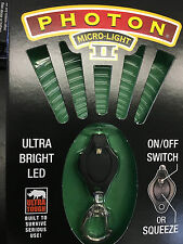 Photon MICRO LIGHT II Personal Safety Flashlight,Different Beam Colors Availble.