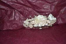 Vintage Formal Bridal Style Ivory Decorative Hair Comb