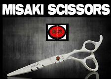Hairdresser White Hair Scissors Brand New  6.0  Misaki with Scissor Sheath CJ4