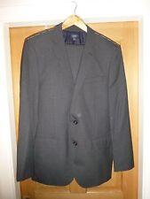 BNWT J Crew Ludlow Grey Italian Wool Suit 42R W34 34L
