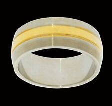 ISBN- RS-SFLU-P-00 Silver and Gold Wedding Band £50.00