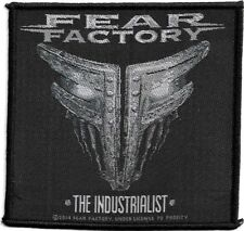 Official Merch Woven Sew-on PATCH Heavy Metal FEAR FACTORY The Industrialist